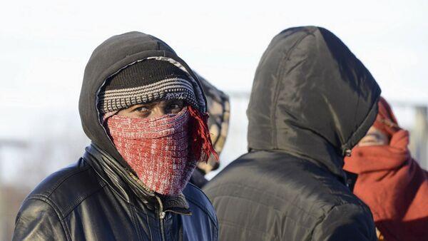 Refugiados en la frontera entre Rusia y Noruega - Sputnik Mundo