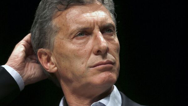 Mauricio Macri, presidential candidate  - Sputnik Mundo
