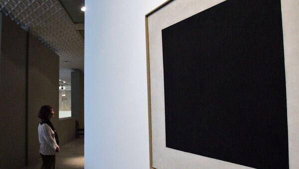Cuadrado Negro en la galería Tretiakov de Moscú - Sputnik Mundo