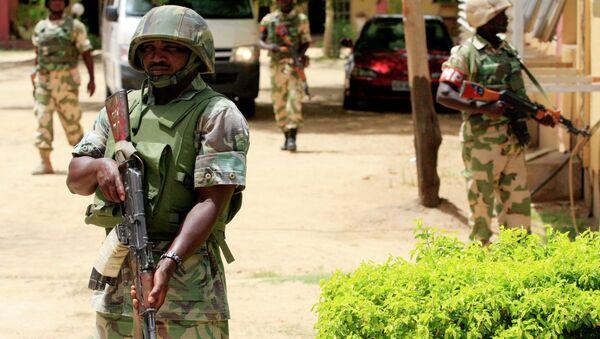 Soldados nigerianos (archivo) - Sputnik Mundo