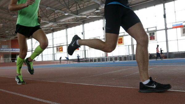 Atletas rusos en Moscú - Sputnik Mundo