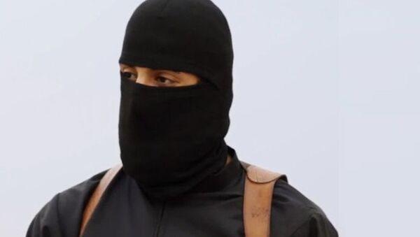 Yihadista John, verdugo de Daesh (Archivo) - Sputnik Mundo