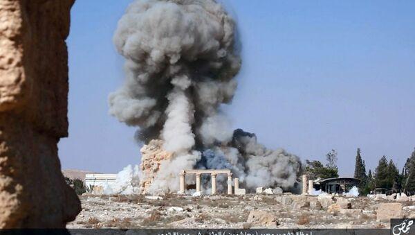 Explosión en Palmira - Sputnik Mundo