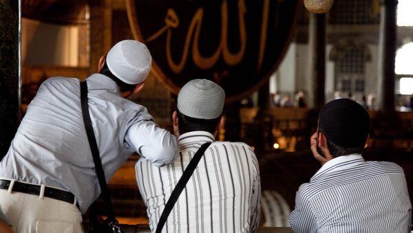 Los muslimes de Turquía - Sputnik Mundo