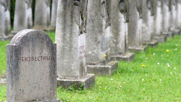 Cementerio de soldados soviéticos en Alemania - Sputnik Mundo