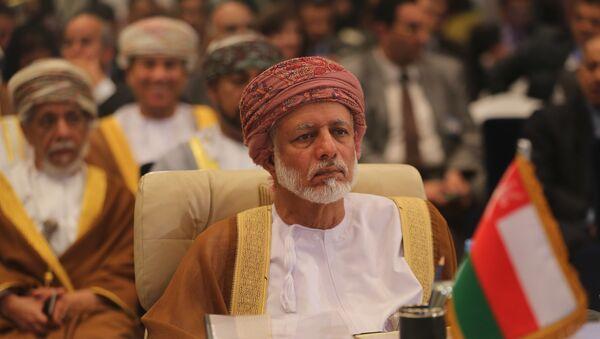Yusuf bin Alawi, el ministro de Exteriores de Omán - Sputnik Mundo