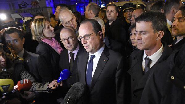 François Hollande, presidente de Francia - Sputnik Mundo