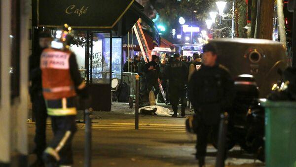 El lugar de uno de los ataques en París (Archivo) - Sputnik Mundo