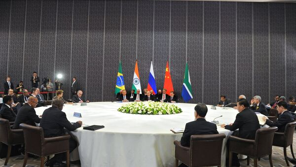Líderes de BRICS en Antalya - Sputnik Mundo