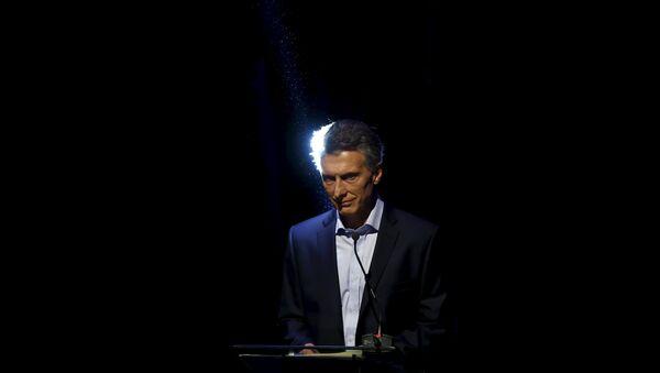 Mauricio Macri (archivo) - Sputnik Mundo