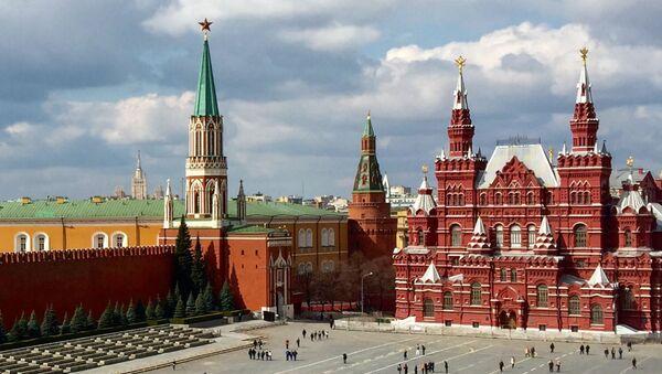 Красная площадь в Москве - Sputnik Mundo