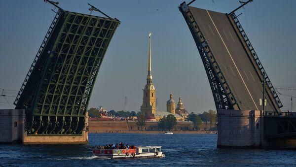 La ciudad rusa de San Petersburgo - Sputnik Mundo