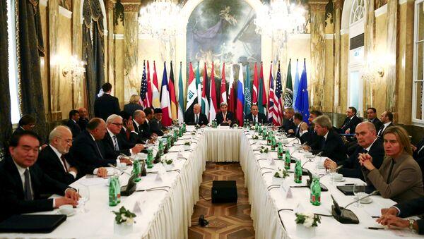 Reunión sobre Siria en Viena - Sputnik Mundo