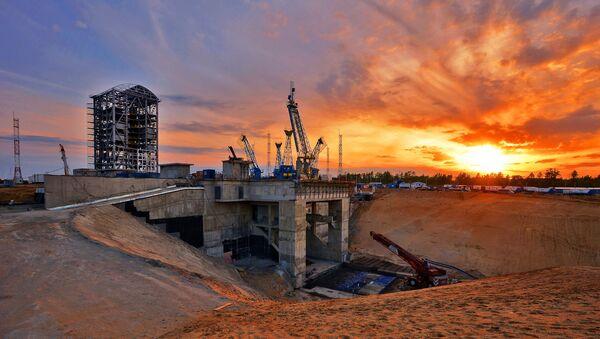 Сonstrucción del cosmódromo Vostochni en la región de Amur - Sputnik Mundo