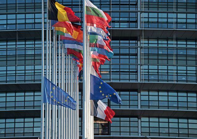 Banderas de los países de la UE