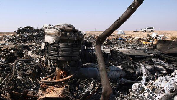 Lugar del siniestro del A321 en Egipto - Sputnik Mundo