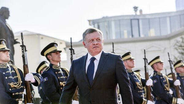 Rey de Jordania Abdalá II durante su visita a Kósovo - Sputnik Mundo