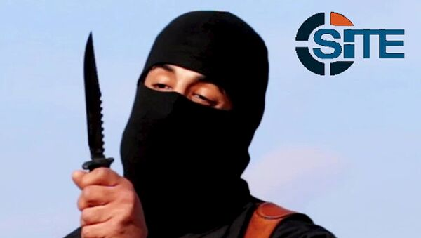 Yihadista de origen británico Mohamed Emwazi, más conocido como 'Jihadi John' - Sputnik Mundo
