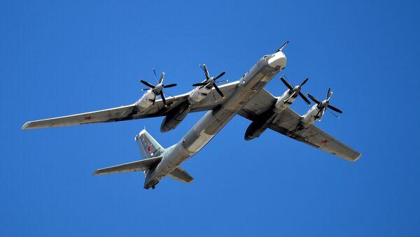 Bombardero estratégico Tu-95MS - Sputnik Mundo