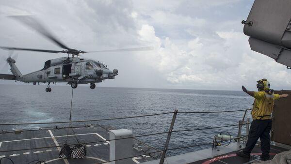 Fuerzas de EEUU en el Mar del Sur de China - Sputnik Mundo