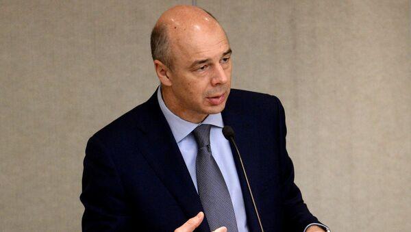 Antón Siluánov, ministro de Finanzas de Rusia - Sputnik Mundo