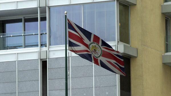 Embajada de Reino Unido en Moscú - Sputnik Mundo
