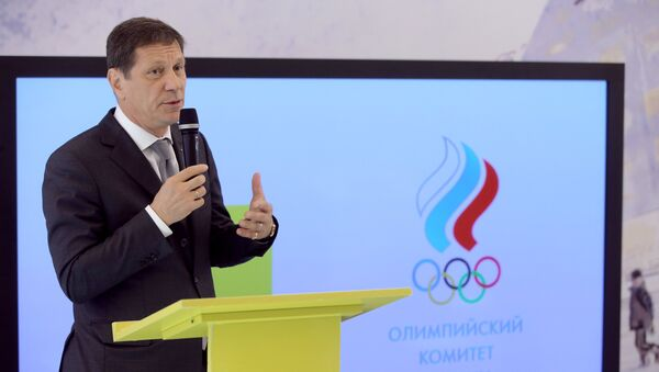 Alexandr Zhúkov, presidente del Comité Olímpico de Rusia - Sputnik Mundo
