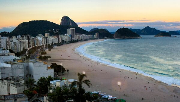La playa de Copacabana - Sputnik Mundo