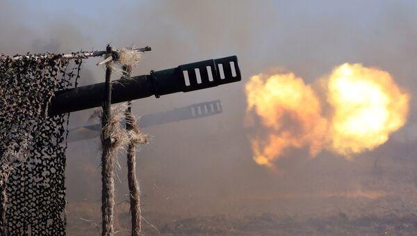 Artillería rusa - Sputnik Mundo