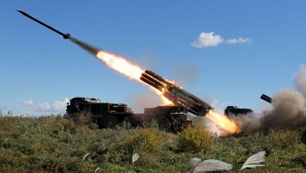 Rusia celebra el Día de las Tropas de Misiles y Artillería - Sputnik Mundo