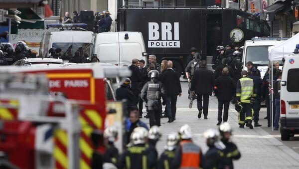 Operación policial en Saint-Denis - Sputnik Mundo