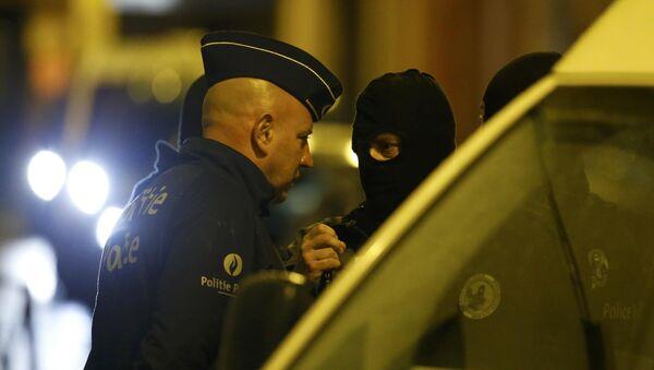 Policías belgas - Sputnik Mundo
