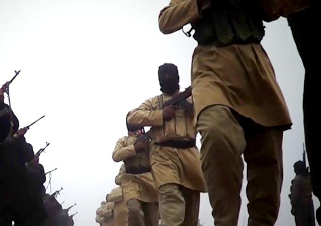 Yihadistas del grupo Daesh