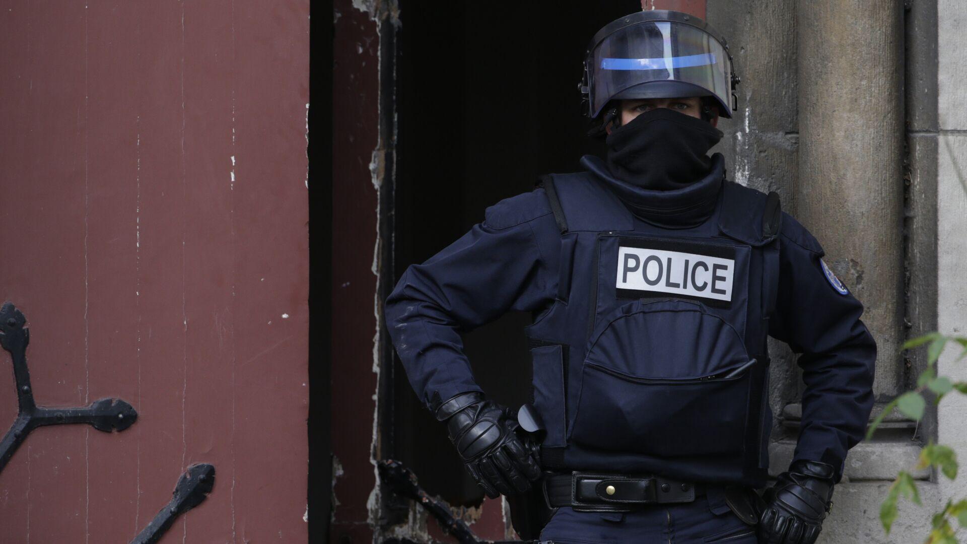 Un policía francés (imagen referencial) - Sputnik Mundo, 1920, 12.04.2021
