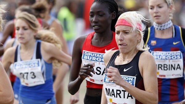 Marta Domínguez, atleta española - Sputnik Mundo