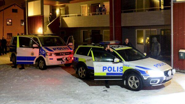 Policía sueca - Sputnik Mundo