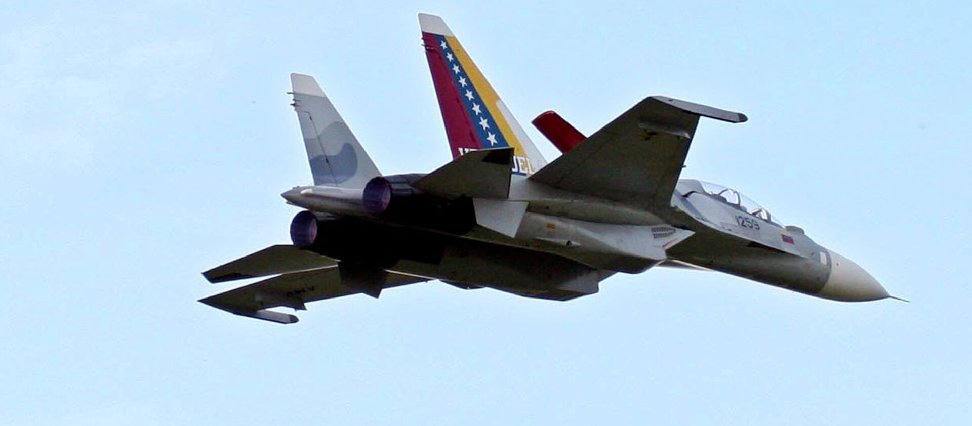 Aviones Su-30 de la Aviación Militar de Venezuela - Sputnik Mundo, 1920, 26.01.2021
