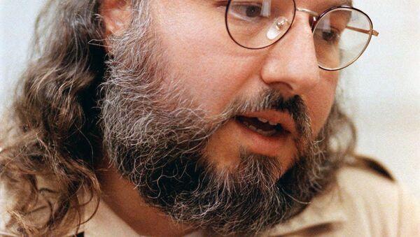 Foto de Jonathan Pollard, espía israelí condenado a cadena perpetua, hecha en 1998 - Sputnik Mundo