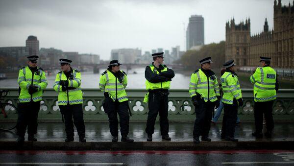 La policía británica - Sputnik Mundo