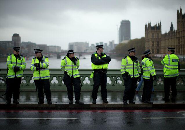 La policía británica