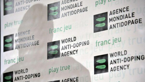 El logo de la WADA - Sputnik Mundo