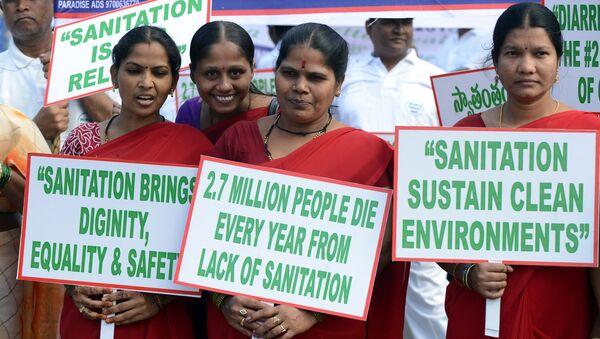 El Día Mundial del Retrete en India - Sputnik Mundo