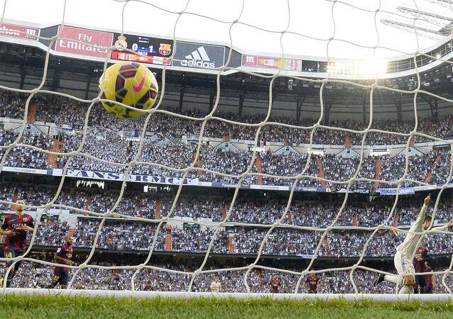 Match Real Madrid CF vs FC Barcelona at the Santiago Bernabeu stadium in Madrid