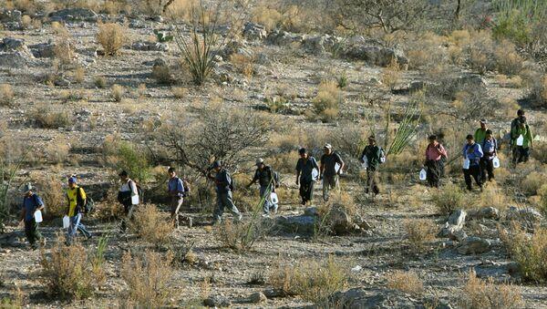 Migrantes en México - Sputnik Mundo