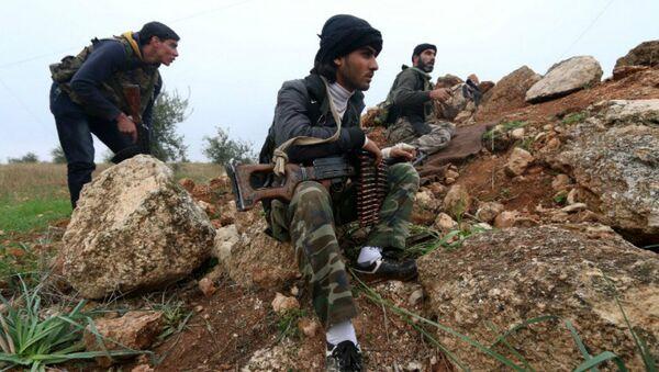 Militantes del Frente Al Nusra - Sputnik Mundo
