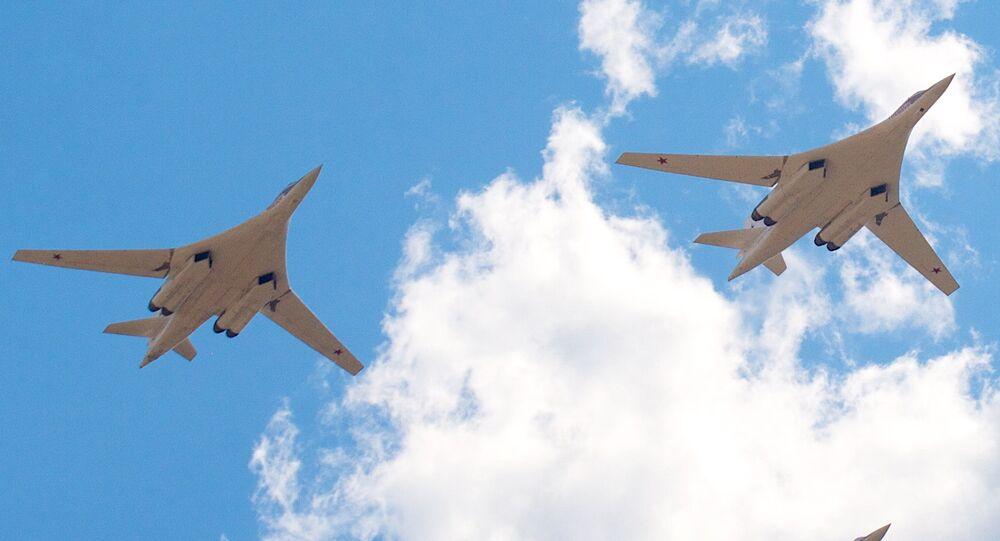 Bombarderos estratégicos Tu-160