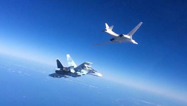 Aviones militares rusos en Siria - Sputnik Mundo