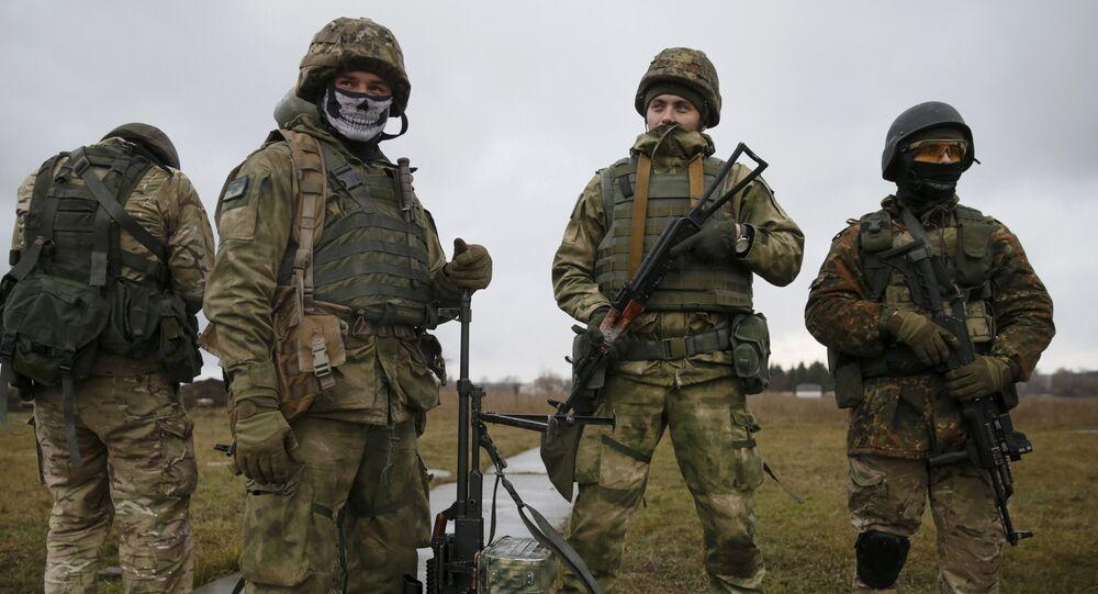 Efectivos de las fuerzas especiales ucranianos