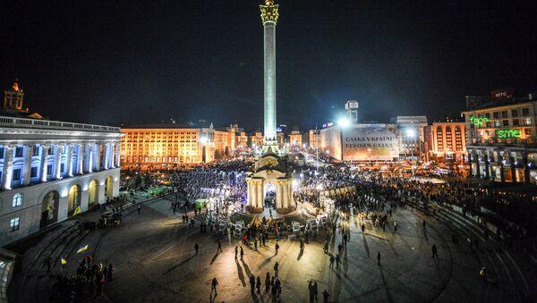 El Maidán Nezalézhnosti (Plaza de la Independencia) de Kiev (archivo) - Sputnik Mundo