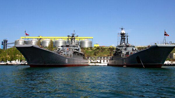 Военно-морская база Черноморского флота Российской Федерации в Севастополе - Sputnik Mundo